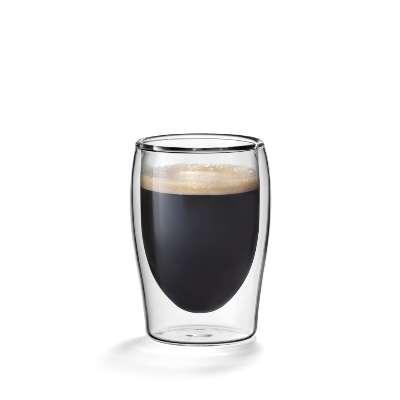 Dubbelwandig glas espresso flame