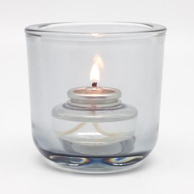 Lamphouder budget cylinder glas afm. 7,5x7,5x7,5 cm