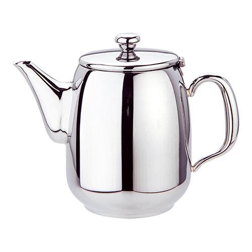 Koffiekan met lange schenktuit rvs 18 10