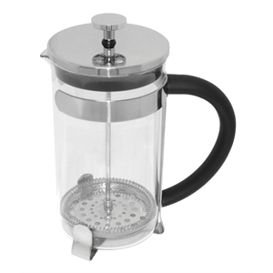 Cafetiere rvs sterk glas