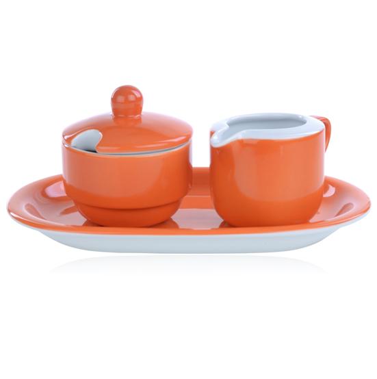 suiker en roomstel ocean orange mix match