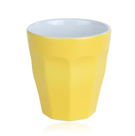beker cafelegante geel mix match