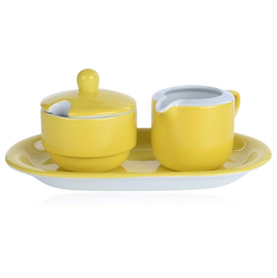suiker en roomstel model ocean geel mix match