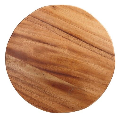 Plank rond hout presentatie brood CB2009 38.2035