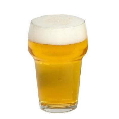 Bierglas met kraag stapelbaar