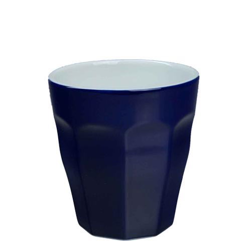 Beker Cafelegante Picardie kleur Kobalt blauw nova porselein