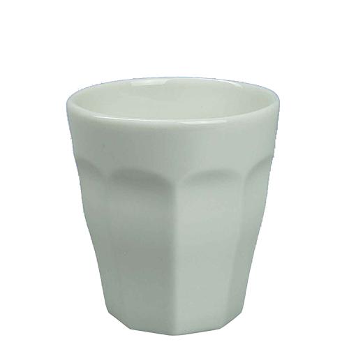 Beker Cafelegante Picardie kleur vanille nova porselein