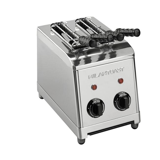 milan toast tosti apparaat rvs roestvrij staal kleur