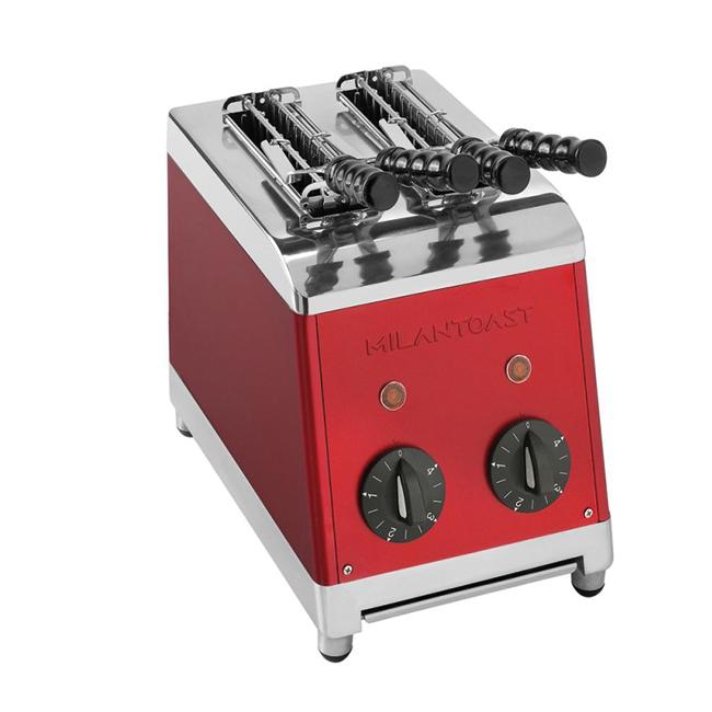 milan toast tosti apparaat rood kleur