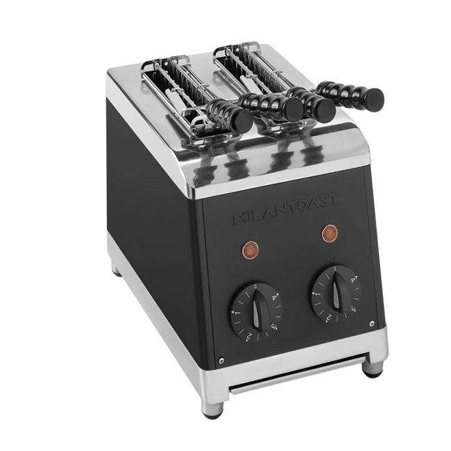 milan toast tosti apparaat zwart kleur