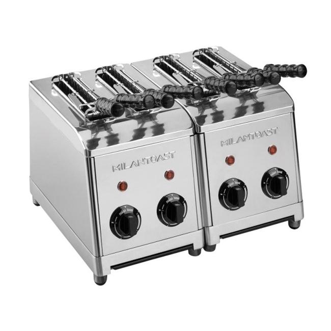 milan toast tosti apparaat rvs kleur type 4 sleuven