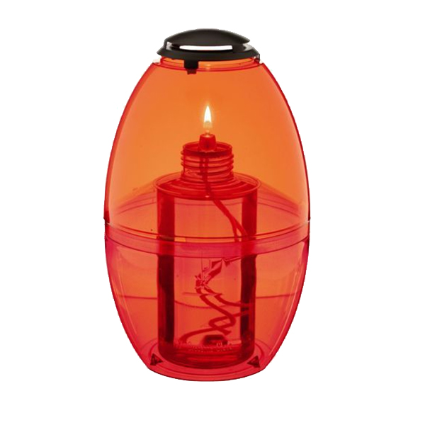 tafellamp terraslamp apollo moonlight rood