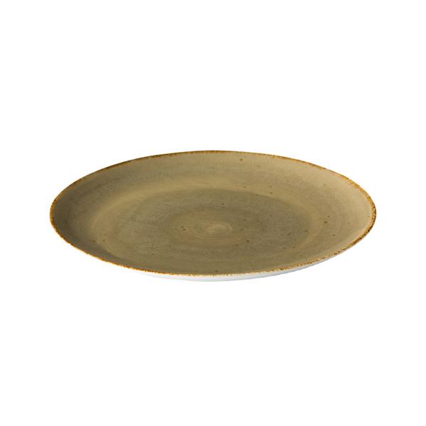 Q authentic coupe bord zand 21 cm 6stuks