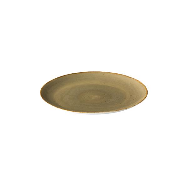 Q authentic coupe bord zand 15,5 cm 6stuks