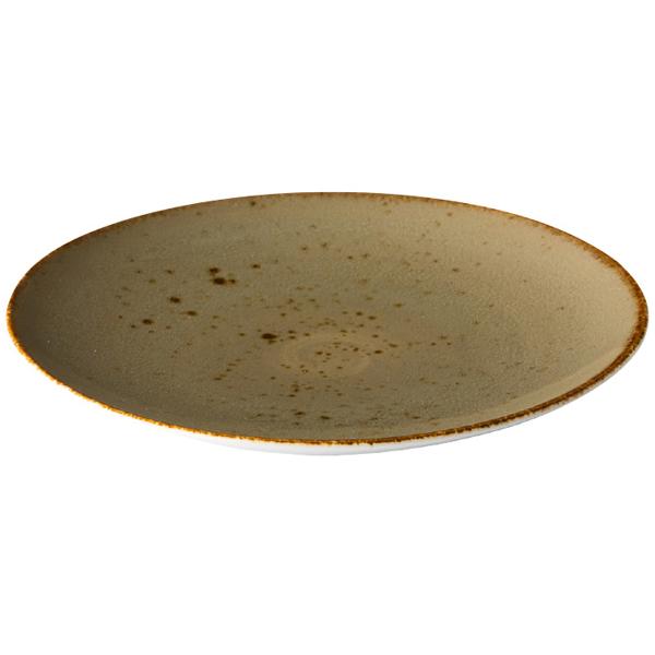 Q authentic coupe bord zand 27,7 cm 6stuks