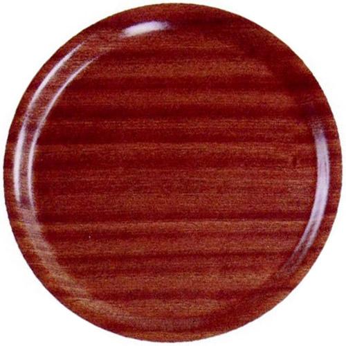 Dienblad mahonie rond kelnersblad 3505514 32.3060b