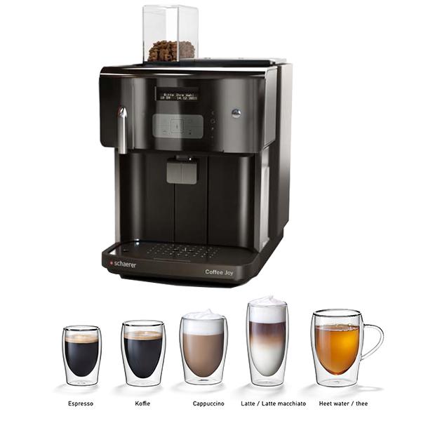 Schaerer coffee joy volautomaat koffiezetapparaat