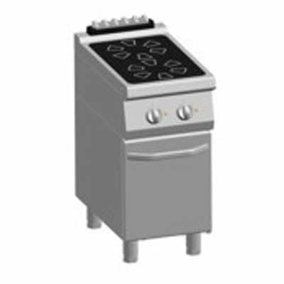 ATA 700 Kooktafel K7 EVC05PP electrisch keramisch 2 zones met deur 82.7135