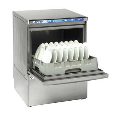Vaatwasser ATA AF 780 PS met afvoerpomp en voorlader ATA vaatwasmachines