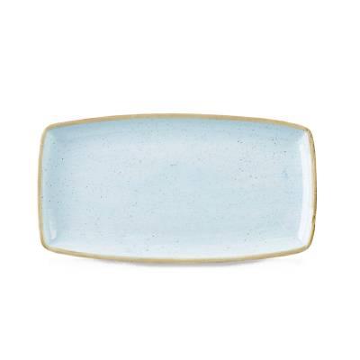 Bord rechthoekig Churchill Stonecast Duck Egg Blue