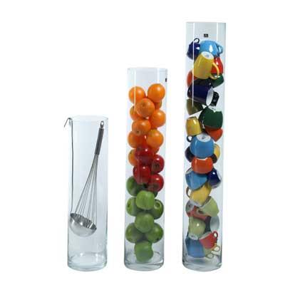 Cilinder vaas glas