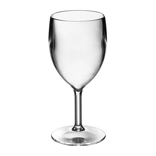 polycarbonaat glazen wijnglas 18cl roltex top