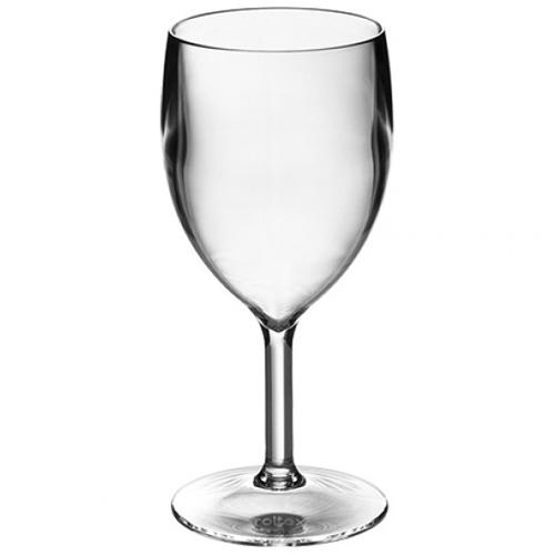 polycarbonaat glazen wijnglas 25cl roltex top