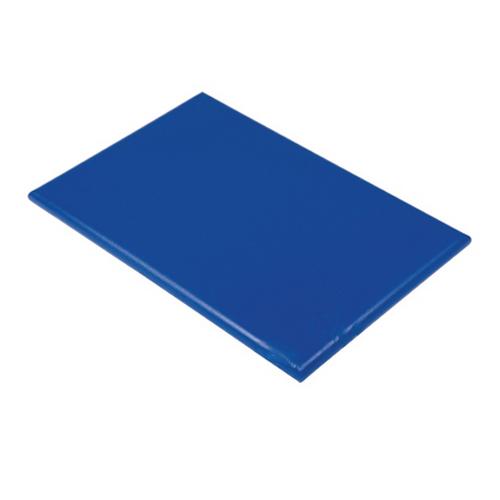 snijplank blauw haccp vis kunststof