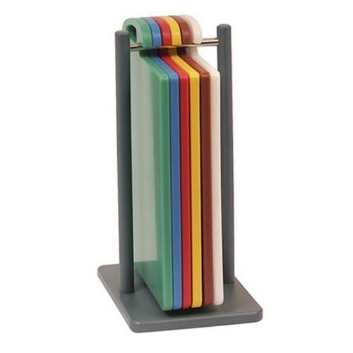 snijplankhouder snijplankenset 6 kleuren