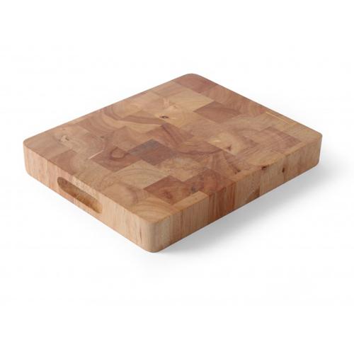 snijplank rubberwood GN 1 1 53x32,5cm