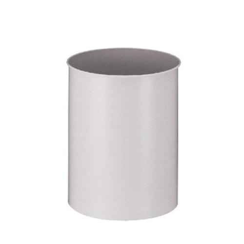 prullenbakje afvalemmer afvalbakje papierbak rond 15 liter grijs zwart