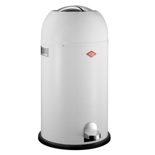 wesco kickmaster wit 33 liter pedaalemmer afvalbak vuilnisbak