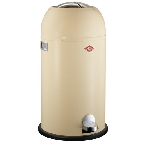 wesco kickmaster amandel 33 liter pedaalemmer afvalbak vuilnisbak