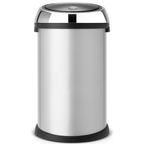 brabantia touch bin afvalemmer 50 liter glans