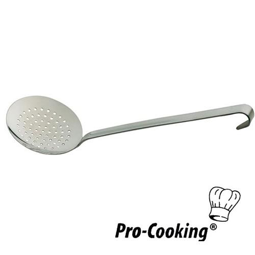 Schuimspaan rvs 18 10 pro cooking korte steel