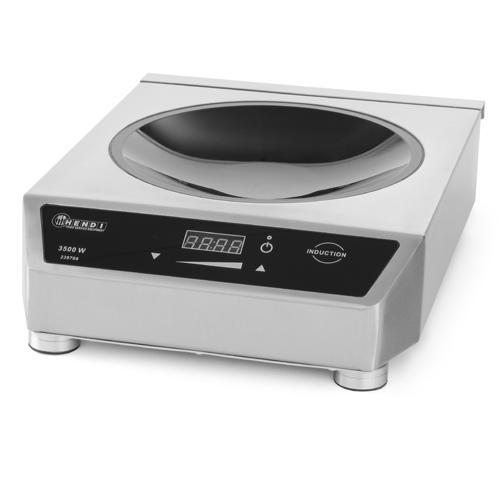 hendi inductie kookplaat wokpan front cooking 01