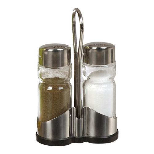 Menageset peperstrooier zoutstrooier roestvrijstaal