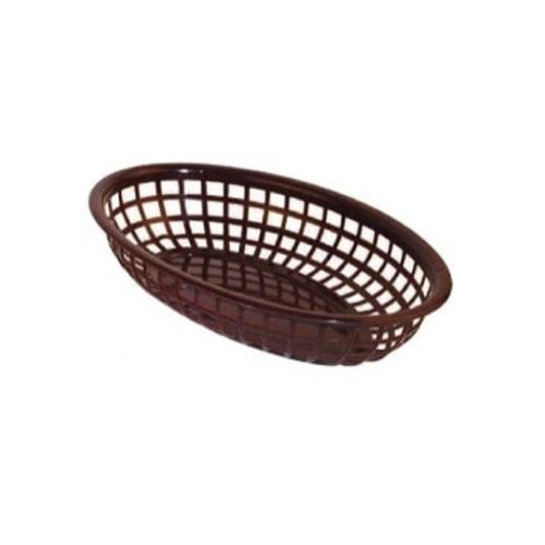 Broodmandje hotdogmandje broodkorf bruin 3148