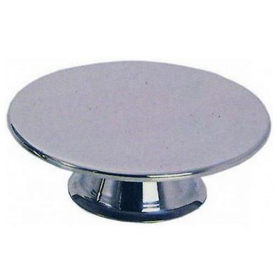 Taartstandaard taartplateau op voet roestvrijstaal 40cm 38.2399
