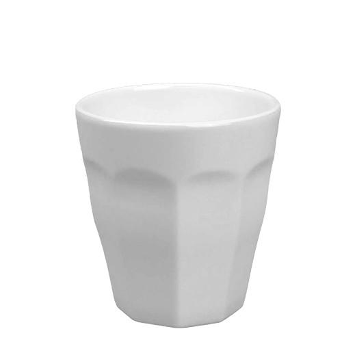 Beker Cafelegante Picardie kleur wit nova porselein vrij