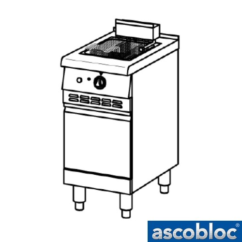 Ascobloc Ascoline 700 AEW 460 GastO pastakoker vrijstaand logo