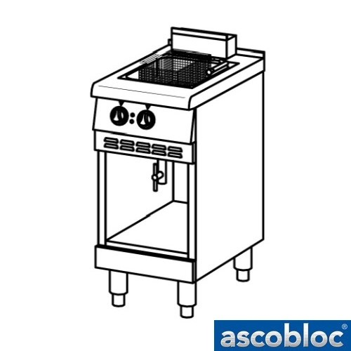 Ascobloc Ascoline AEF 124.210 GastO friteuse frituur elektronische temperatuuregelaar logo