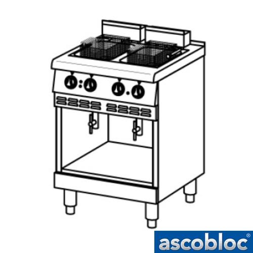 Ascobloc Ascoline AEF 224 GastO friteuse frituur logo b