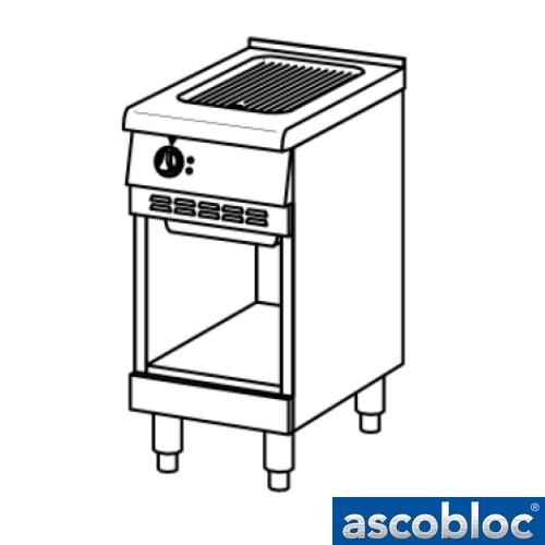 Ascobloc Ascoline AEB 240 GastO bakplaat