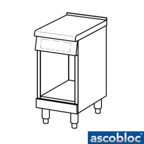 Ascobloc Ascoline AUA 040 GastO neutrale unit werkbank arbeitstische logo