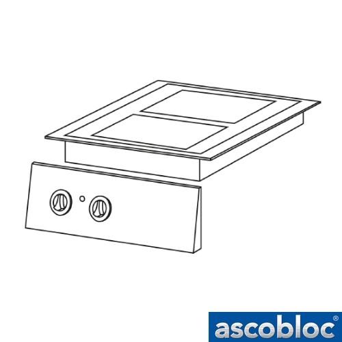 Ascobloc Integraline IEH 300 GastO inbouw keramische kookplaat herde elektro glaskeramik kochplatte logo