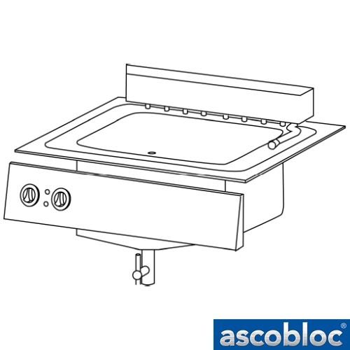 Ascobloc Integraline IEF 144 GastO inbouw friteuse elektro fritteuse logo
