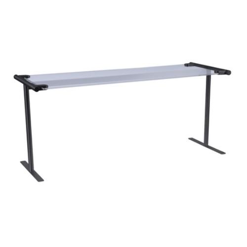 Hoestruit ademschot etagere tafelmodel recht rvs zwart coat