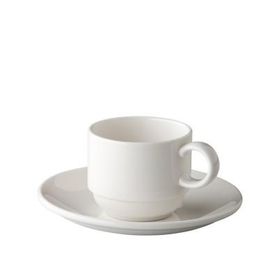 Espressokop espressoschotel stapelbaar 10cl President St James