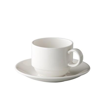 Koffiekop koffieschotel stapelbaar 15cl President St James
